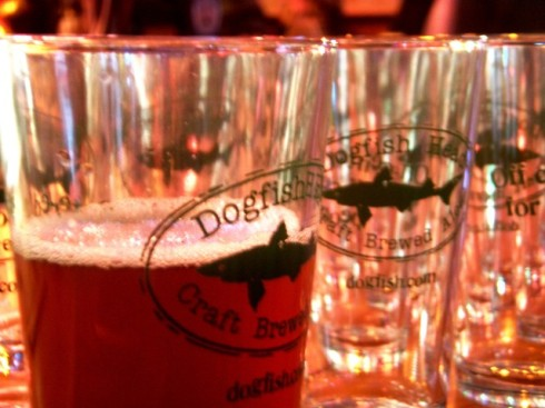 75 MInute IPA on cask for Dogfish Head pint night at Moe's