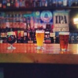 An array of ales for socializing